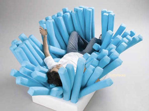The Toothbrush Sofa
