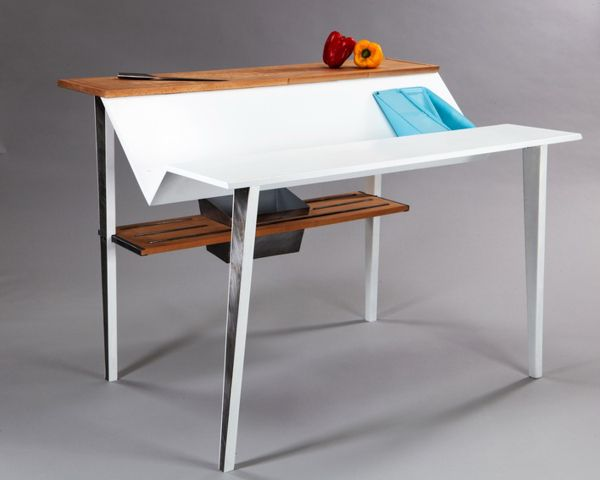 Adam Levi S Tish Poses As A Dual Purpose Kitchen Table