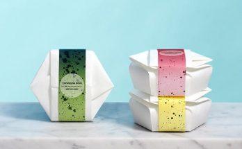 origami like bowl
