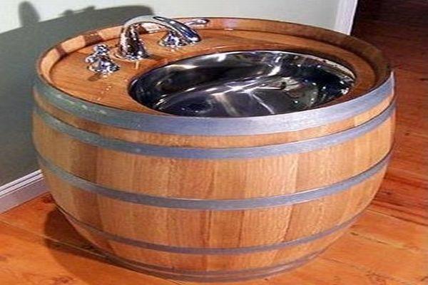 Beer Barrel Sink
