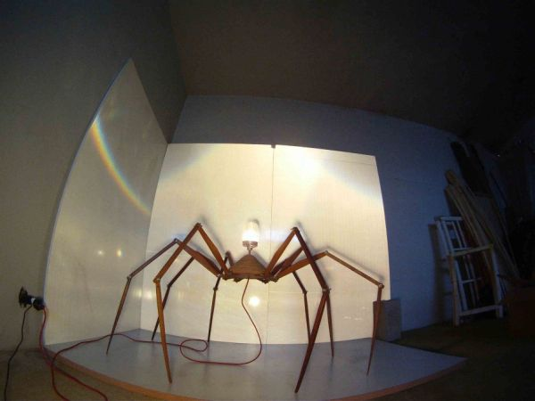 Bruno Freire create the anatomically 'correct' Spider Lamp_3