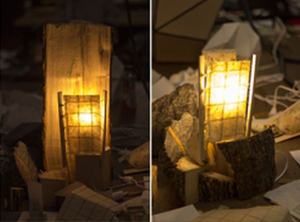 Kindling Lamp crafted from natural ash wood_2
