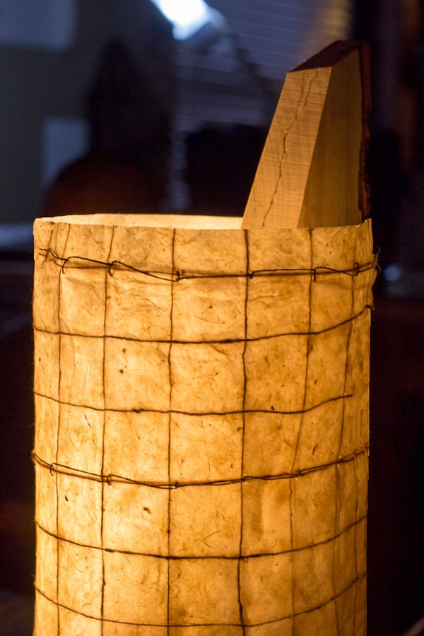Kindling Lamp crafted from natural ash wood_5