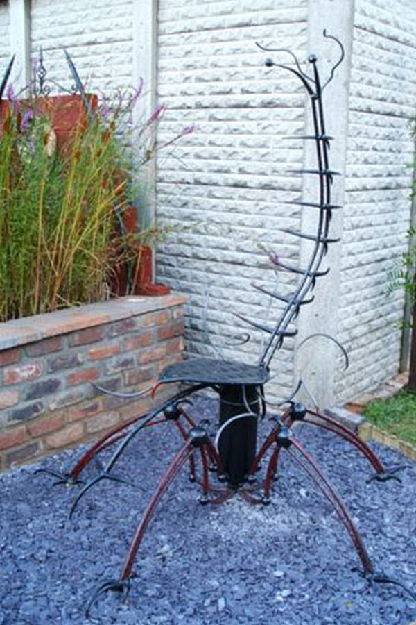 Creepy Garden Chair