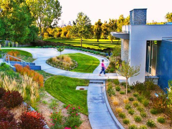 Flowing Garden Paths