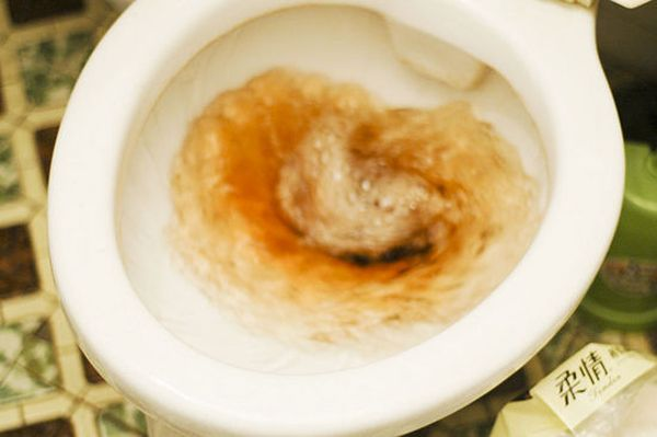 Flush 'em down
