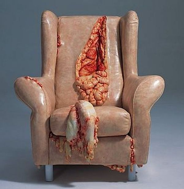Hanging Entrails Chair