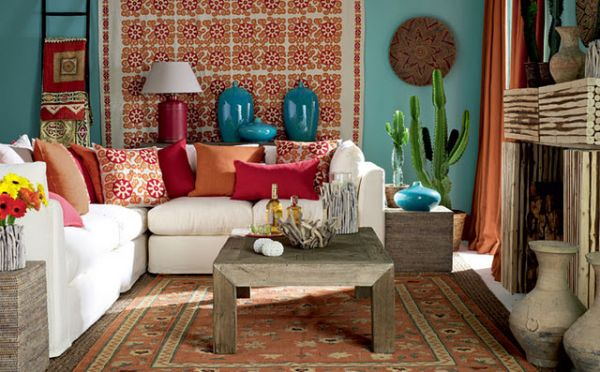 5 simple ideas for mexican style interiors - Mexican home decor ideas ...