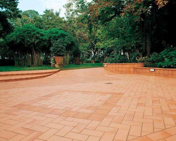 Terracotta Garden Paving