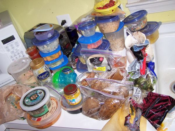 Getting rid of old food