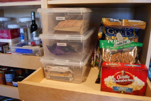 Mode of storing