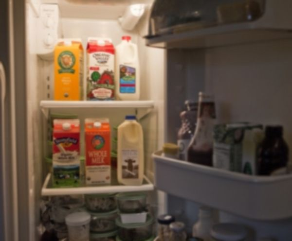 Storing milk properly to increase their consumption period