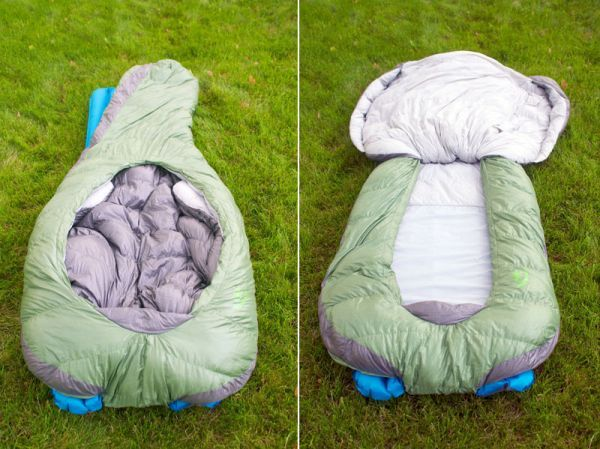 Backcountry Bed - A zipper-less sleeping bag for improved comfort_3