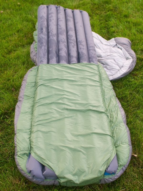 Backcountry Bed - A zipper-less sleeping bag for improved comfort_5