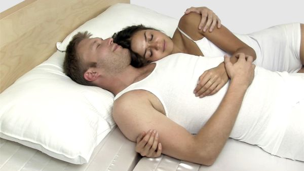cuddle mattress takes the act of cuddling to a cozy level