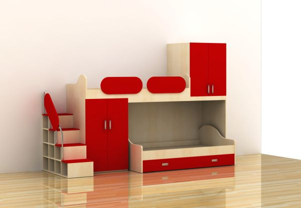 E087-R1 Loft Bed from China