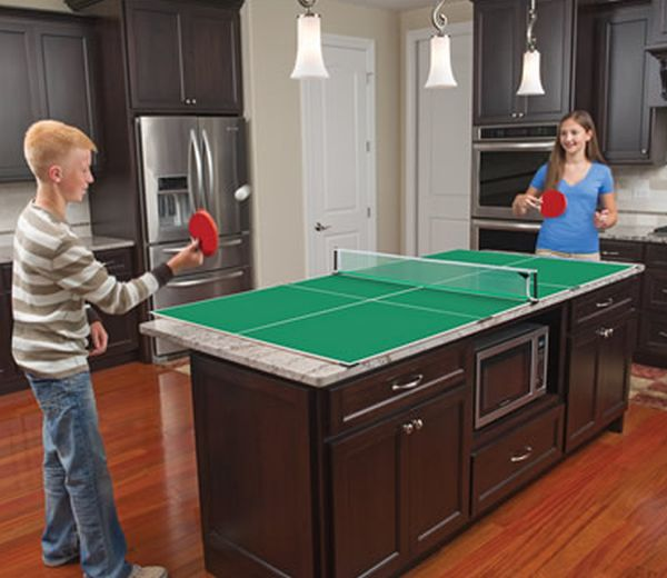 Kitchen Table Tennis_1  sc 1 st  Home Harmonizing & Kitchen Table Tennis game set can be played in our kitchens