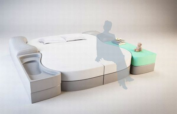 LECT-UTOPIA concept bed
