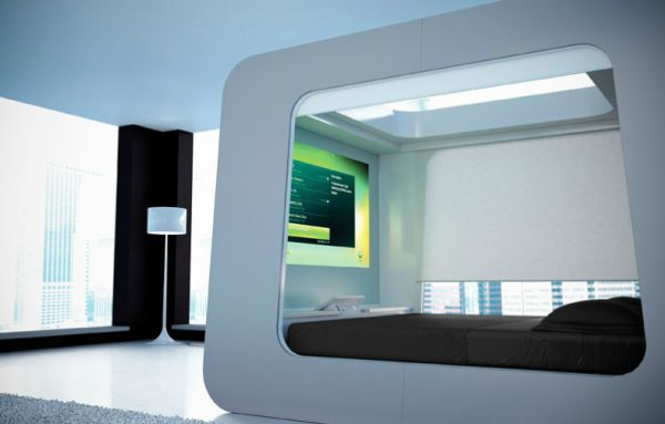 Luxury bed system from HiCan