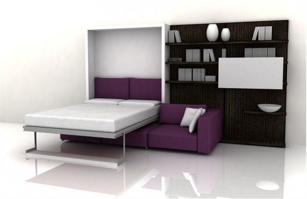 Swing multi-purpose bed sofa