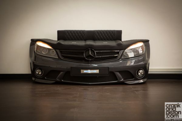 AMG seat mimicking a Mercedes C63 sedan