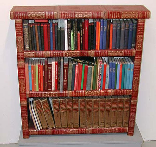 Another book-made shelving system from Jim Rosenau_9