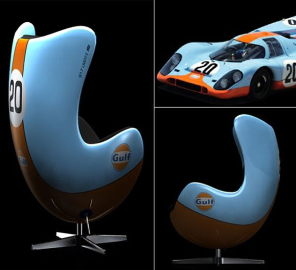 Automotive furniture collection by Racing & Emotion