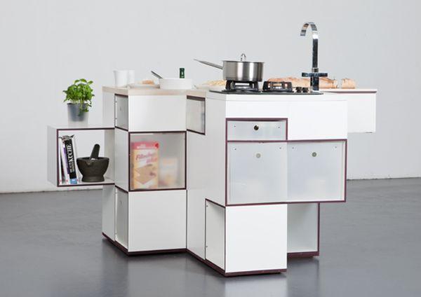 Carre modular kitchen unit