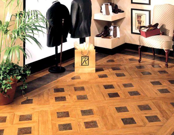 Choices of floor coverings Vinyl
