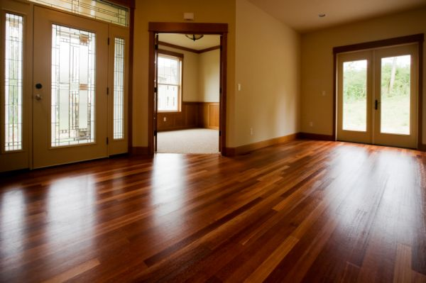 Choices of floor coverings wood