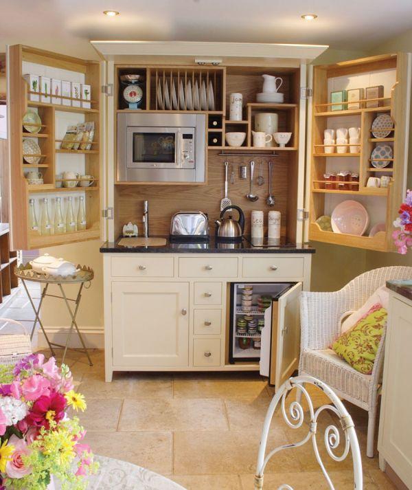 10 Ingeniously Designed Compact Kitchen Units
