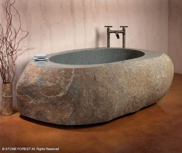 Granite Bathtub from Stone Forest_1