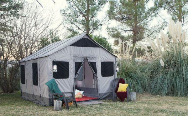 Safari Tent crafted from aluminum, nylon and Cordura_1
