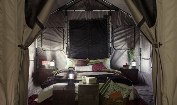 Safari Tent crafted from aluminum, nylon and Cordura_3