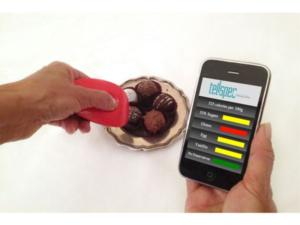 TellSpec a food's calories and chemicals checker_3