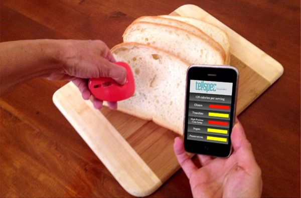 TellSpec a food's calories and chemicals checker_5