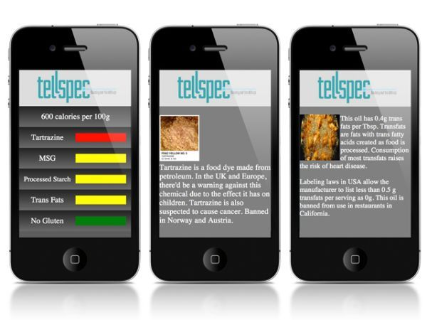 TellSpec a food's calories and chemicals checker_7
