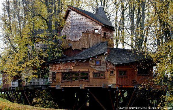 The Alnwick Garden Treehouse - Northumberland, England