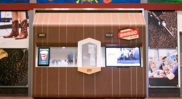 briggo coffee haus robot