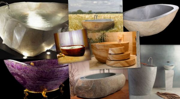 natural bathtub designs