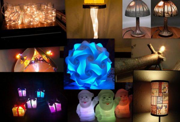 Charming Christmas lamps