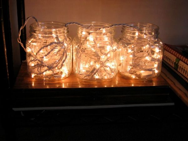 Christmas wad lamps