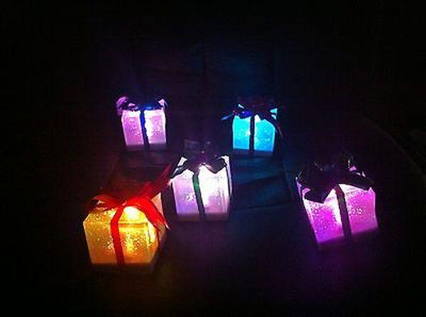 Color Changing Christmas Gift lights