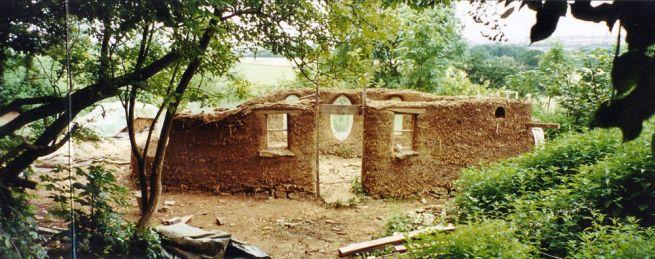 Michael Buck creates cob house for $250_5