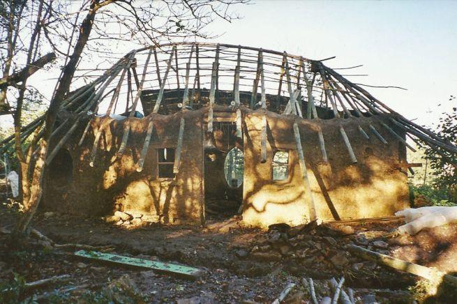 Michael Buck creates cob house for $250_7