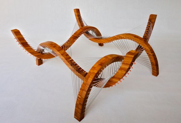 robby cuthbert's furniture designs made from steel and wood | home