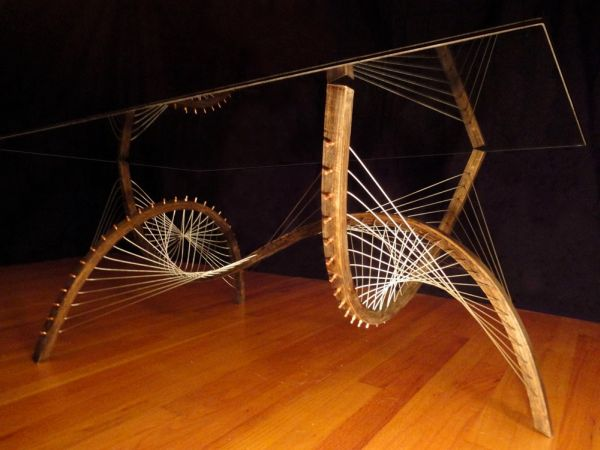 Robby Cuthbert's furniture made from steel cables and wood_4