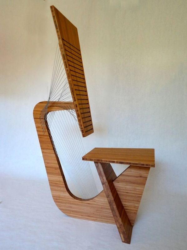 Robby Cuthbert's furniture made from steel cables and wood_5