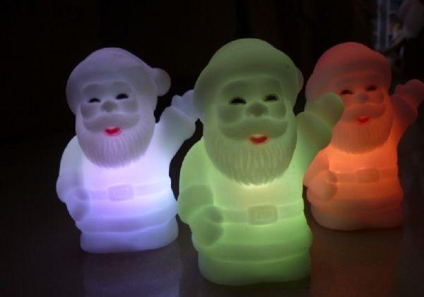 Santa Claus LED lamps