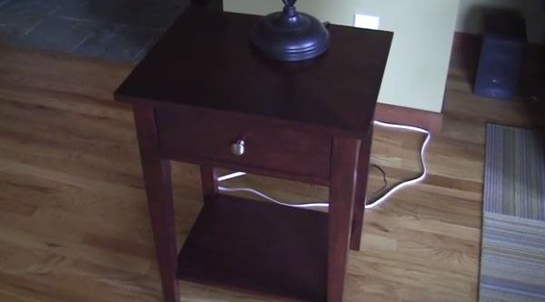 Touch-sensitive Nightstand Furniture_1
